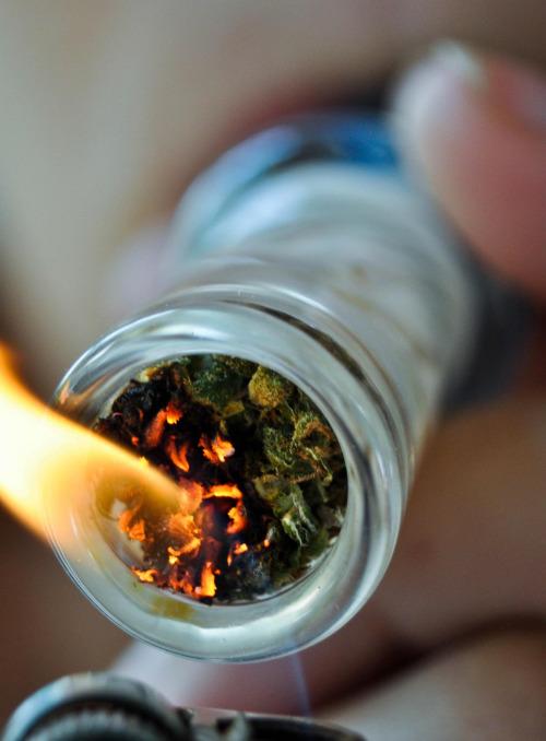 I smoke weed