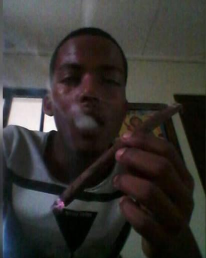 Dominican marijuana user