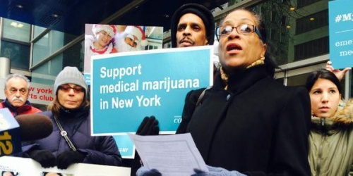 new york marijuana protest