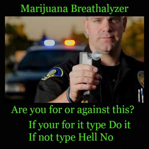 Marijuana Breathalyzer