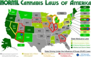 recreational marijuana states